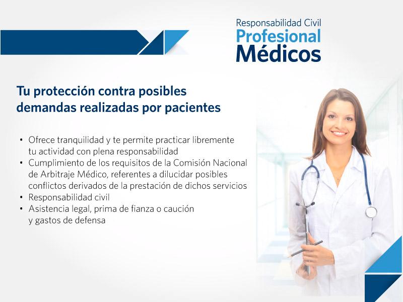 Protección a médicos